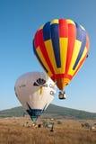 Het internationale Festival Montgolfeerie van de Ballon Stock Foto's