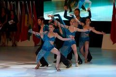 Het internationale Festival van de Dans Bodrum Stock Foto