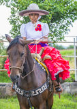 Het internationale festival van Mariachi & Charros- stock foto's
