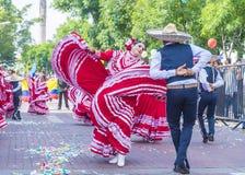 Het internationale festival van Mariachi & Charros- royalty-vrije stock foto