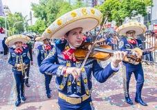 Het internationale festival van Mariachi & Charros- royalty-vrije stock afbeelding
