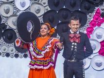 Het internationale festival van Mariachi & Charros- Stock Afbeelding