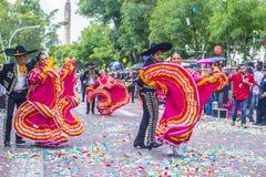 Het internationale festival van Mariachi & Charros- stock foto