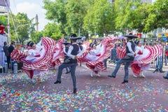 Het internationale festival van Mariachi & Charros- stock fotografie