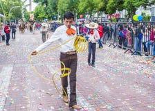 Het internationale festival van Mariachi & Charros- royalty-vrije stock foto's