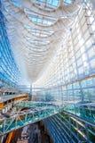 Het Internationale Forum van Tokyo - een multifunctioneel tentoonstellingscentrum in Tokyo, Japan stock afbeelding