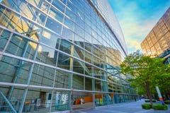 Het Internationale Forum van Tokyo - een multifunctioneel tentoonstellingscentrum in Tokyo, Japan royalty-vrije stock foto's