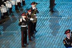 Het internationale militair-muzikale festival Stock Afbeeldingen