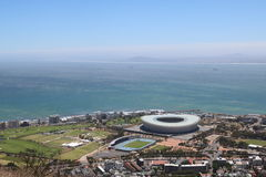 Het Internationale Stadion van Cape Town, Cape Town, Zuid-Afrika Royalty-vrije Stock Foto's