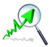 Het investeren van het Concept van de Annalist Stock Afbeelding