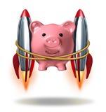 Het investeren van Succes vector illustratie