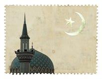 Het Islamitische motief van de moskee royalty-vrije stock afbeelding