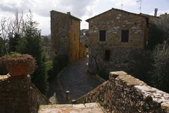 Het Italiaans Weinig stad Stock Afbeelding