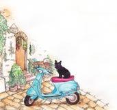 Het Italiaanse dagelijkse leven Royalty-vrije Stock Afbeelding