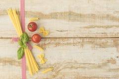 Het Italiaanse Koken Royalty-vrije Stock Afbeeldingen