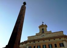 Het Italiaanse Parlement Stock Afbeeldingen