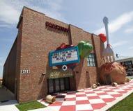 Het Italiaanse Restaurant van Pasghetti in Branson Missouri stock fotografie
