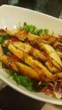 Het Italiaanse voedsel van de Caesarsalade Royalty-vrije Stock Fotografie