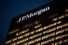 Het J.P. Morgan-hoofdkwartier in Londen Royalty-vrije Stock Foto