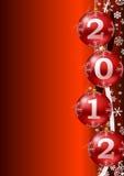 Het jaar 2012 achtergrond van Ney Royalty-vrije Stock Afbeelding