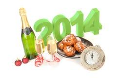 Het jaar 2014 Stock Afbeelding