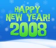 het jaar van 2008 Royalty-vrije Stock Foto's