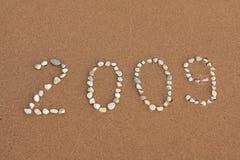 het jaar van 2009 Stock Foto's