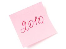 het jaar van 2010 Royalty-vrije Stock Foto's