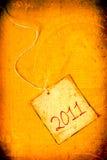 het jaar van 2011 Stock Afbeeldingen