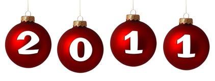het jaar van 2011 Stock Foto