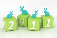 het jaar van 2011 Royalty-vrije Stock Afbeelding