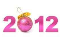 het jaar van 2012 Stock Afbeelding