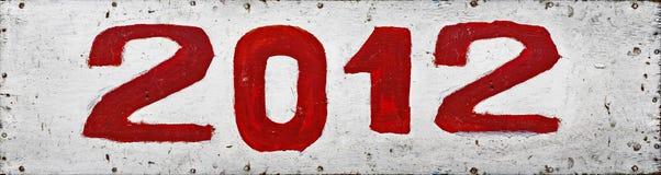 het jaar van 2012 Stock Foto