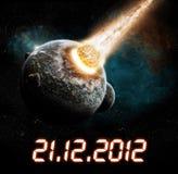 het jaar van 2012 van de apocalyps Stock Afbeelding