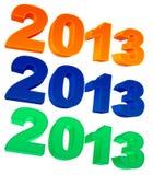 het jaar van 2013 Stock Foto