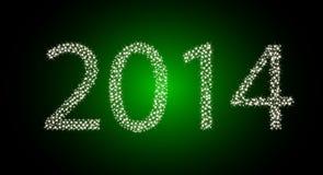 het jaar van 2014. Stock Foto's