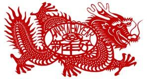 Het jaar van de draak vector illustratie