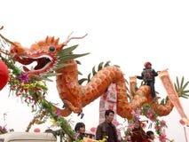 Het jaar van de draakdraak Stock Afbeelding