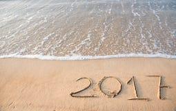 het jaar van 2017 van het wekken Stock Foto