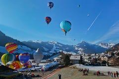 Het jaarlijkse Internationale Festival van de Ballon van de Hete Lucht Stock Foto