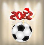 het jaarvoetbal van 2012 royalty-vrije illustratie