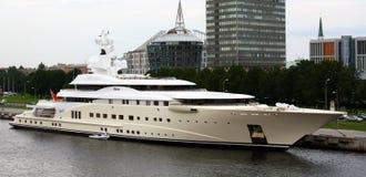 Het jacht Pelorus van de luxe Stock Foto