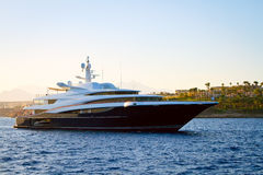 Het Jacht van de luxe Stock Afbeeldingen