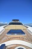 Het jacht van de luxemotor Stock Foto's