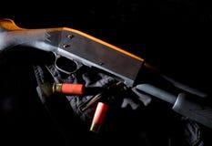 Het jachtgeweer van de pomp Stock Afbeeldingen