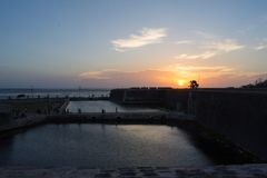 Het Jaffna-Fort stock fotografie