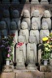 Het Japanse beeldhouwwerk van Boedha Royalty-vrije Stock Afbeeldingen