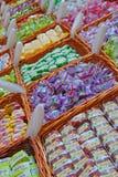 Het Japanse Dessert van de Rijstcake Royalty-vrije Stock Fotografie
