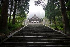 Het Japanse heiligdom stock foto