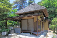 Het Japanse Huis van de Thee Stock Fotografie